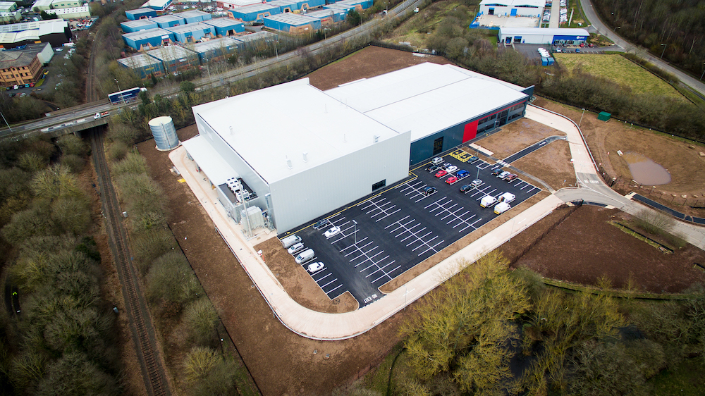 Web An aerial view of the new Polytec site in Telford that has just been handed over by Pave Aways copy